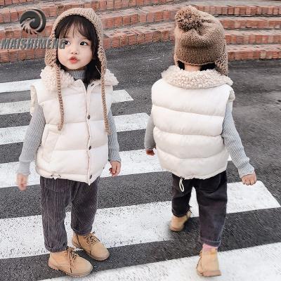 【品牌特賣】兒童棉背心秋冬裝加厚男童女童寶寶羽絨棉馬甲中小童保暖棉服外套