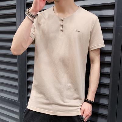 公牛歡騰2020夏季韓版潮流短袖男T恤夏裝ins潮牌半袖體恤衫青年休閑男裝上衣服