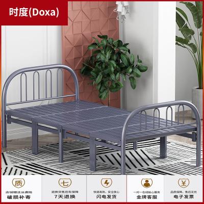 蘇寧放心購折疊床單人床家用成人簡易床經濟型鐵床午休床出租床雙人床時度(Doxa)