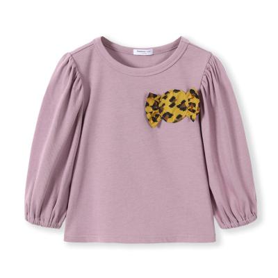 巴拉巴拉童装女童长袖宝宝T恤儿童上衣秋装2019新款打底衫韩版棉