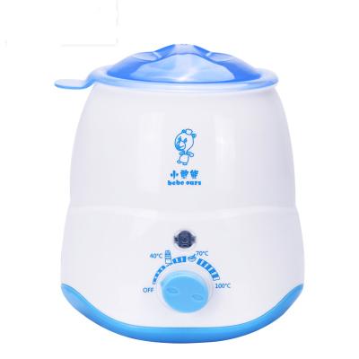 【買一送二】小憨熊bebeours暖奶器溫奶器多功能恒溫消毒暖奶器寶寶熱奶器寬口智能暖奶器