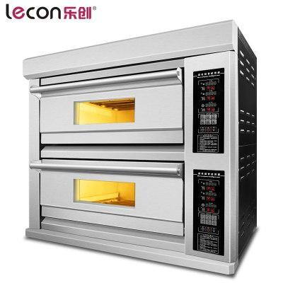 lecon/乐创洋博 KPO-2A 商用烤箱 大型面包烤箱烤炉 二层二盘商用烤箱 电烤箱商用蛋糕披萨蛋挞烘炉