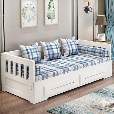 家具放心购沙发床多功能可储物两用实木沙发床客厅两用 多功能折叠床小户型单双人床沙发床储物时尚新款