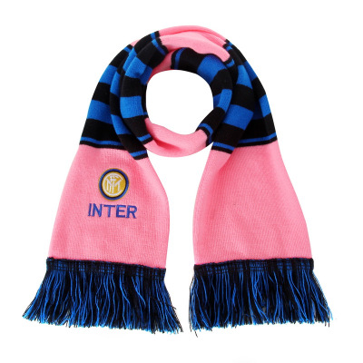 國際米蘭俱樂部Inter Milan官方新品女百搭運動戶外精品針織圍巾