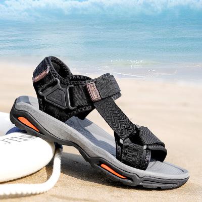 策恩公牛涼鞋男戶外2020夏季新款溯溪沙灘鞋男士潮流涉水越南涼鞋