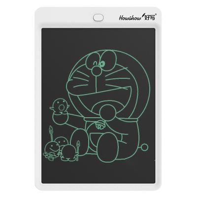 好写(howshow)液晶手写板 无尘小黑板 儿童涂鸦绘画板 商务草稿板 手绘板电子画板 12英寸写字板H12L白色