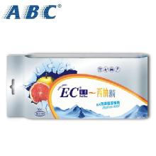 ABC湿纸巾手口清洁成人洁面巾便携式EC湿巾片装10片