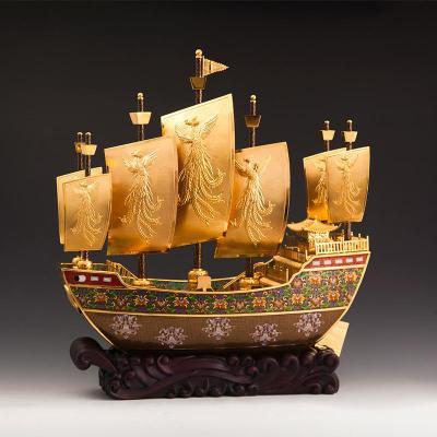 景泰蓝《友谊之船》