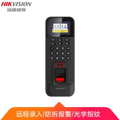 海康威視 指紋門禁考勤一體機 光學式指紋識別 門鈴考勤管理彩色液晶顯示屏 支持考勤數據導出 K1T804F-1