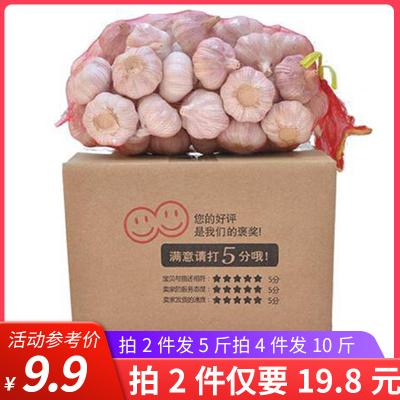 匯爾康(HR) 2020新鮮大蒜帶箱2.5斤裝 調味蒜頭干蒜 蘇寧生鮮蔬菜