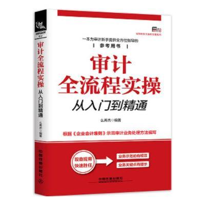 正版 审计全流程实操从入门到精通 中国铁道出版社 么秀杰 9787113245474 书籍