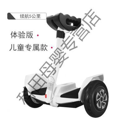MINI自平衡车儿童电动智能体感车成年代步车双轮带扶杆成人电动车应学乐 24V儿童体验款无保修无赠品8寸 36V