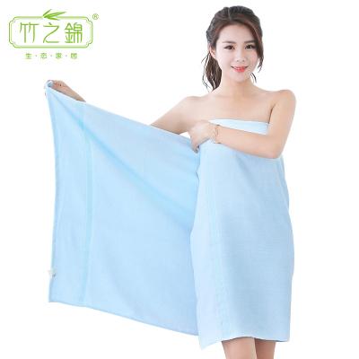 竹之錦 浴巾家紡 竹纖維柔軟加大成人浴巾 吸水速干大浴巾 70×140cm