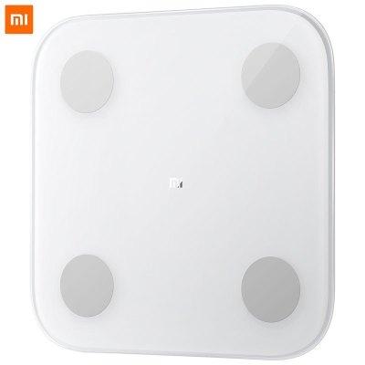 小米(MI) 体脂秤2代 智能家用电子体重秤 数据精准 手机APP智能控制