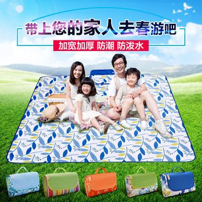 三极户外(Tripolar) TP1201 野餐垫户外野炊营沙滩帐篷地垫防水加厚加大牛津布草坪垫子