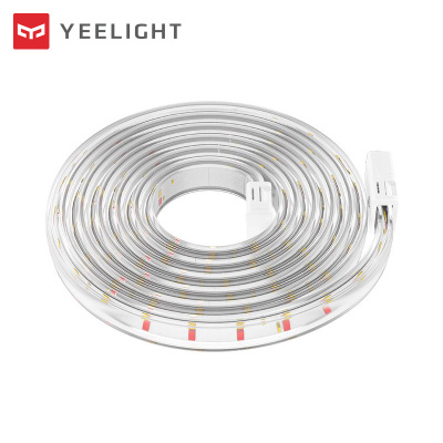 Yeelight智能LED燈帶氛圍燈帶色溫可調米家App小愛同學智能音箱控制 可定制加長燈帶(1米,單拍無效不發貨)