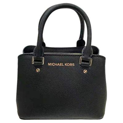 【直營】邁克科爾斯(MICHAEL KORS)SAVANNAH超迷你真皮拉鏈款女士單肩包斜挎包手提包 MK女包