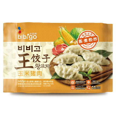 必品阁王饺子玉米猪肉490g
