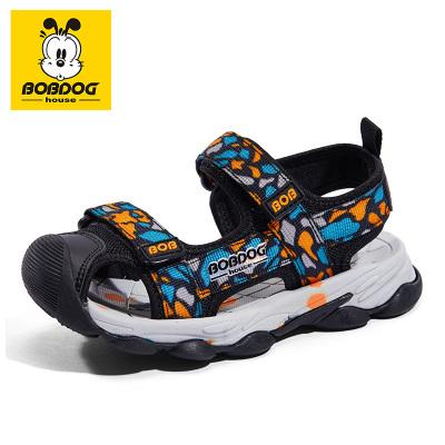 巴布豆BOBDOG HOUSE童鞋2020夏季新款兒童毛毛蟲涼鞋女童寶寶鞋子男童機能鞋