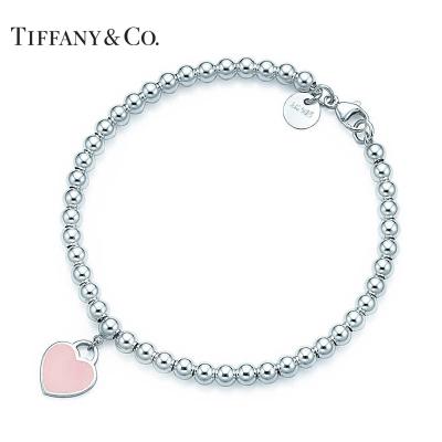 蒂芙尼 Tiffany & Co Return to Tiffany系列粉色心形珠珠手链 30978811