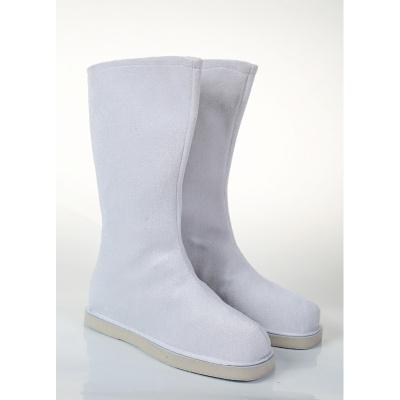 古裝漢服靴子男女古代鞋子大臣書生漢服鞋中式長筒戲曲防滑演出靴