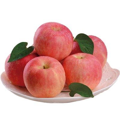 【精品苹果】新鲜烟台苹果2.5斤 果径80mm左右 红富士苹果新鲜水果 苏宁特色生鲜 偶数发货