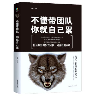 企业管理的书籍 不懂带团队 你就自己累 职场领导者的生存法则 员工培训的心理学 人力资源管理 提升领导力的书