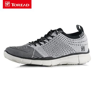 探路者(TOREAD)戶外運動男女徒步舒適透氣越野跑鞋KFFF81324/KFFF82324