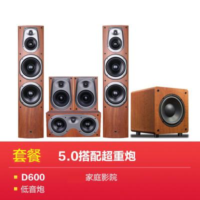 Hivi/惠威 D600家庭影院5.1家用客廳音響套裝木質音箱
