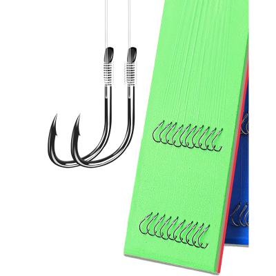 漁之源魚鉤綁好子線雙鉤魚線套裝全套成品線組袖鉤伊勢尼釣魚用品