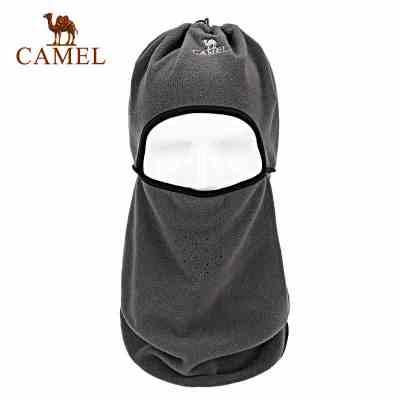 CAMEL駱駝戶外圍脖 保暖防風透氣多用抓絨 多功能護耳吸汗圍脖