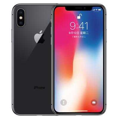 【二手9成新】苹果/Apple iPhone X 黑色256GB 全网通4G 苹果手机 国行
