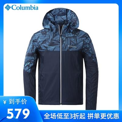 哥倫比亞戶外男裝透氣單層沖鋒衣皮膚衣防曬衣PM4590