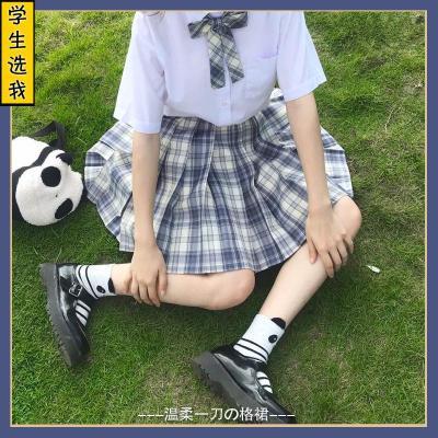 兔姬舍制服館溫柔一刀jk格裙百褶裙女學生日系校服裙格子裙半身裙