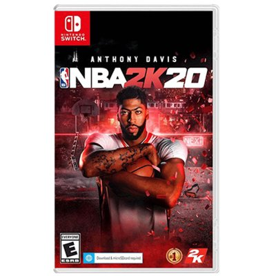 任天堂(Nintendo)Switch NS 家用游戏主机游戏卡带 体育竞技 NBA 2K20 美国职业篮球 中文