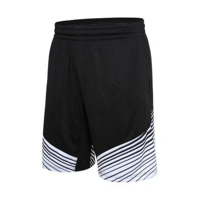 籃球運動短褲男夏季輕薄速干透氣休閑五分褲男子籃球跑步訓練短褲經典美勝