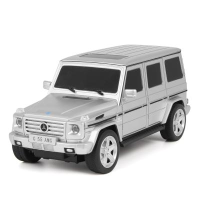 美致模型(MZ) 遙控車 正版授權奔馳G55車 1:24 玩具男孩汽車 銀色 27029