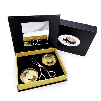 磁鐵睫毛磁石假睫毛自然款仙女神器夾子6d磁性吸量子磁力軟磁睫毛
