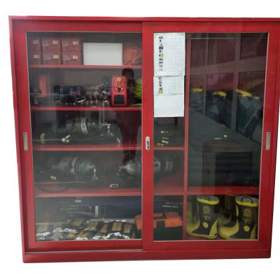 利生 微型消防站 消防應急器材防護柜 微型消防柜1800MMX600MMX1800MM(空柜)