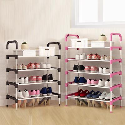 简易鞋架家用多层经济型宿舍鞋柜门口防尘古达收纳省空间小鞋架子