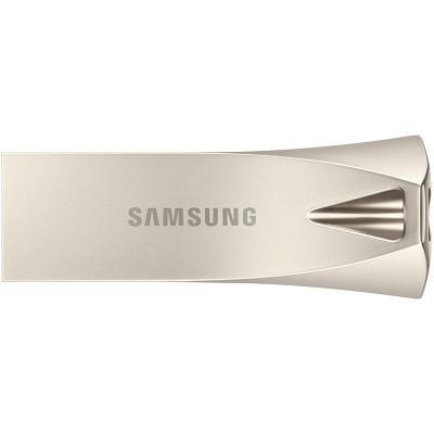 三星 256g優盤 USB 3.1 BAR 升級版+香檳銀 汽車載電腦系統高速傳輸商用迷你金屬U盤