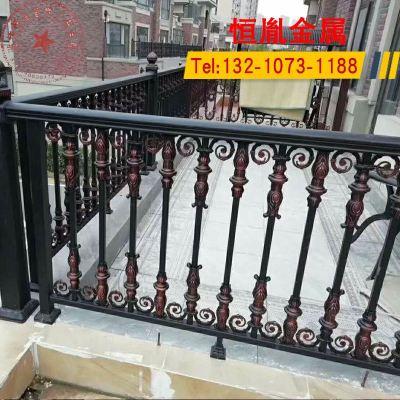 HOTBEE鋁藝陽臺護欄別墅庭院圍欄鋁合金圍墻欄桿樓梯扶手防護欄戶外柵欄