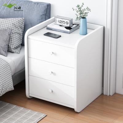 沁峰 簡易床頭柜簡約現代臥室多功能儲物柜迷你小型床邊柜子ins收納柜