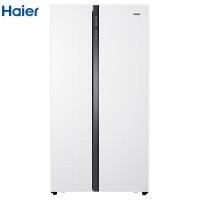 海尔576升风冷无霜变频对开门冰箱 轻薄机身 厨装一体 节能环保 家用电冰箱
