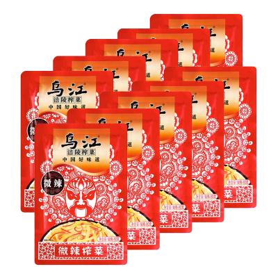 烏江 微辣榨菜80g*10袋
