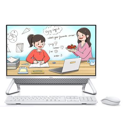 戴爾(DELL)靈越5490一體機電腦 23.8英寸微邊框辦公家用商務游戲網課窄邊臺式電腦(十代i5-10210U 16G內存 512G固態 2G獨顯 WiFi藍牙 無線鍵鼠)定制