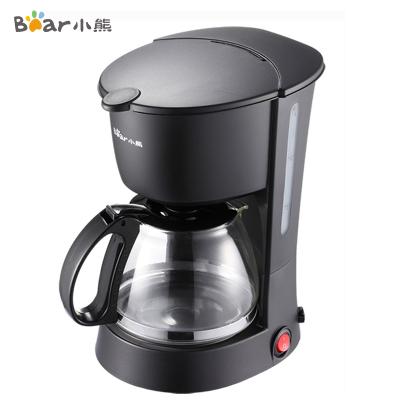 小熊(Bear)咖啡机 KFJ-403 600ml高密滤网 可拆部件易清洗 半自动滴漏式咖啡机泡茶壶美式咖啡