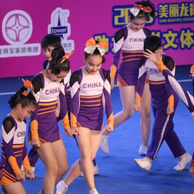 定制啦啦操比赛服装啦啦队服健美操服装体操服演出服学生19新品男