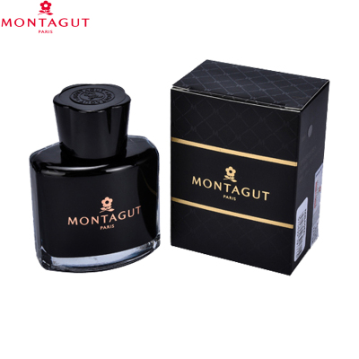 夢特嬌(Montagut)非碳素純黑墨水 60ml 黑色墨水 大容量鋼筆墨水補充液 筆用墨水墨汁