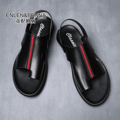英伦班纳(ENLEN&BENNA)2020新款凉鞋男夏休闲沙滩鞋软底凉拖鞋男【1.17-2.2不发货】